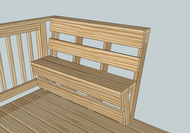 Pdf Diy Built Deck Bench Plans Bunk Bed Building Business