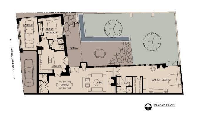 Pear Tree House Floor Plan
