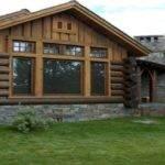 Perfect Mix Modern Rustic Designer Log Home