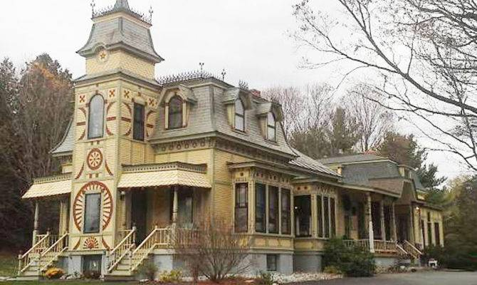 Perfect Second Empire Victorian House Home