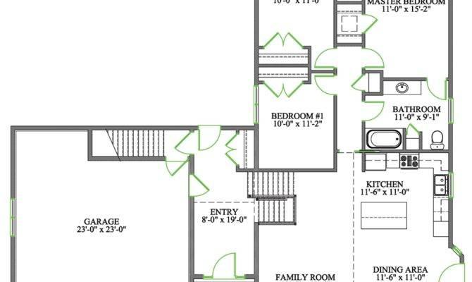 Perfect Side Split House Plans Building
