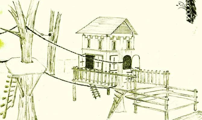Perfect Tree House Blueprints Best Design