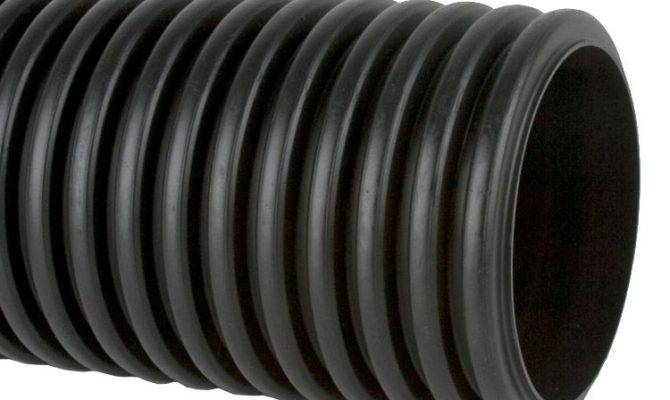 Perforated Twinwall Surface Water Drain Pipe