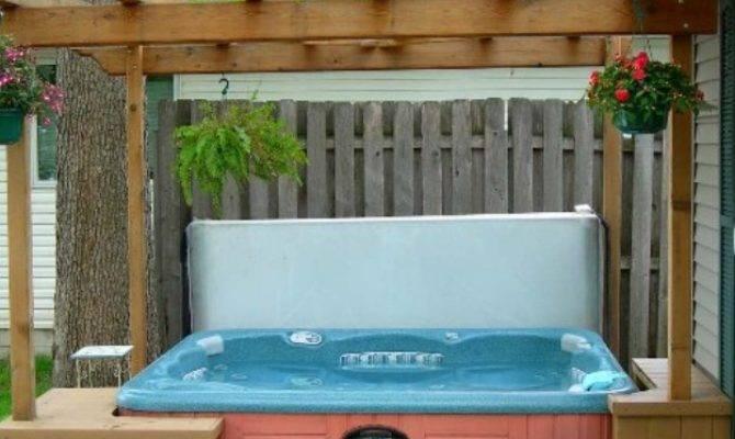 Pergola Design Ideas Hot Tub
