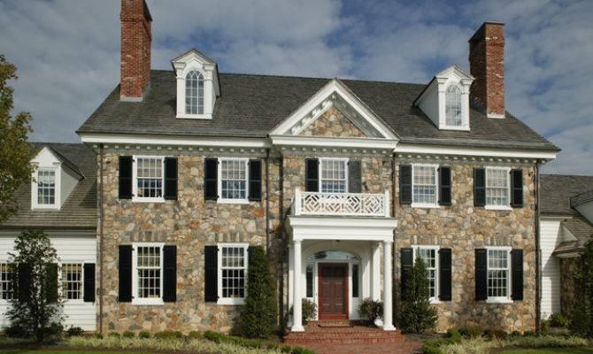 Period Colonial Home Exterior Philadelphia Dewson