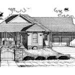 Perth Place Country Ranch Home Plan House Plans More