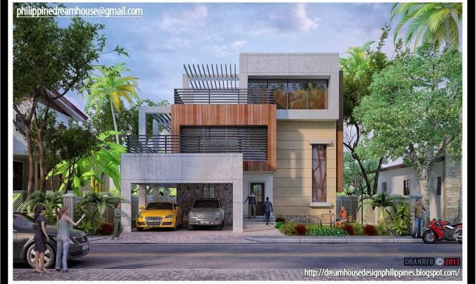 Philippine Dream House Design Three Storey Modern