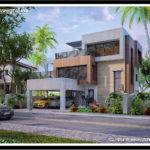 Philippine Dream House Design Three Storey Modern