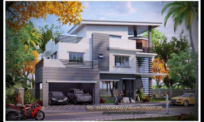 Philippine Dream House Design Three Storey