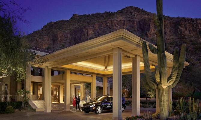 Phoenician Canyon Suites Porte Cochere Flickriver
