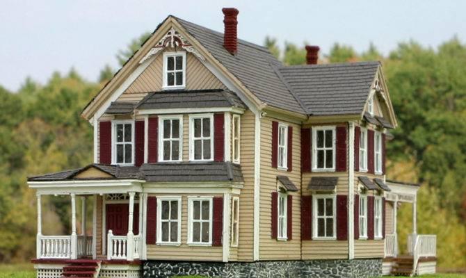 Photos Inspiration Victorian House Model Building