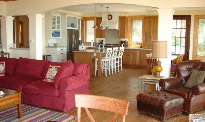Photos Open Kitchen Floor Plans