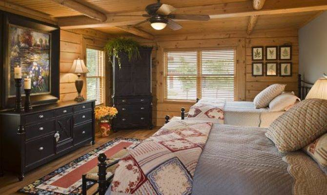 Photos Rustic Log Home Midwest Paradiso