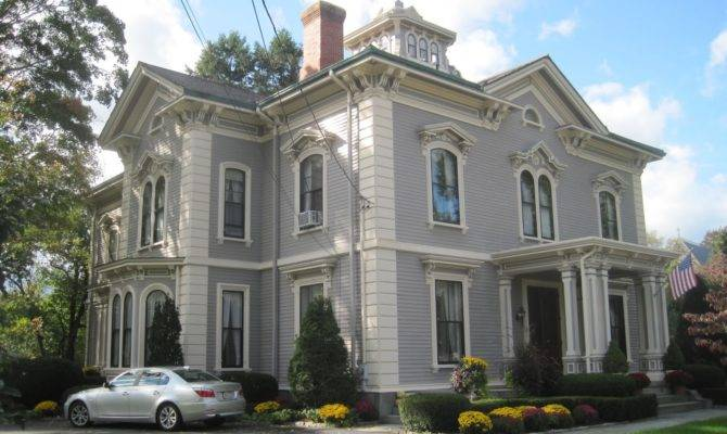 Picturesque Style Italianate Architecture July