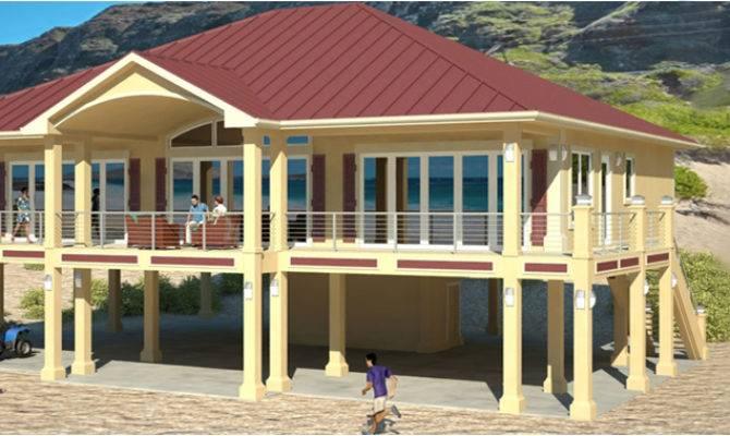 Piers Beach House Plans Cat Homes