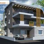 Pin Apnaghar Triplex House Design Pinterest