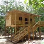 Pin Small Cabin Stilts Flathead Lake Pinterest