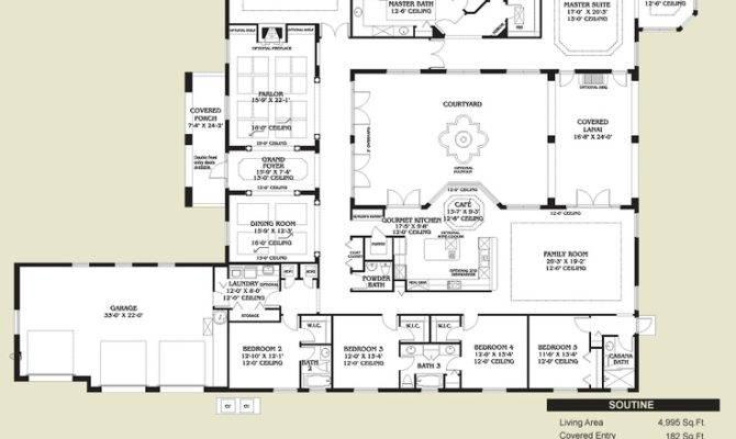 Pinterest Spanish Style Homes Home Floor Plans