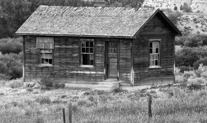 Pioneer Homestead Circa Photograph Dennis Hammer