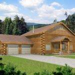 Pioneer Log Home Style Design Coast Mountain Homes