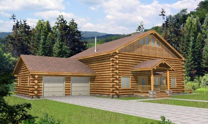 Pioneer Log Home Style Design Coast Mountain Homes
