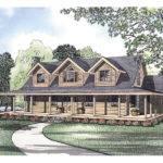 Pioneer Park Rustic Log Home Plan House Plans