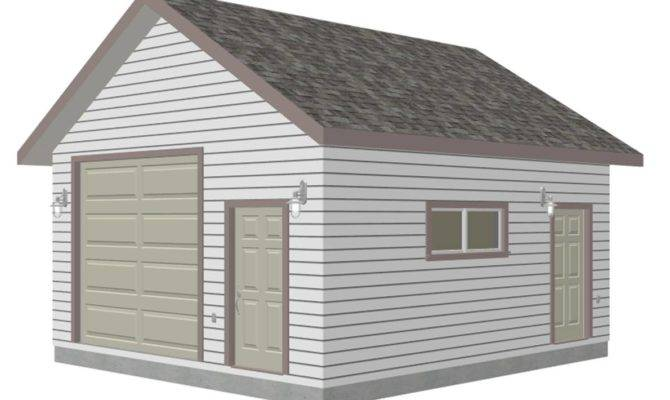 Pitch Pdf Garage Plans Blueprints Sds