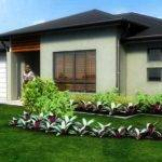 Pitch Roof House Design Single Story New Age Ign Consultants
