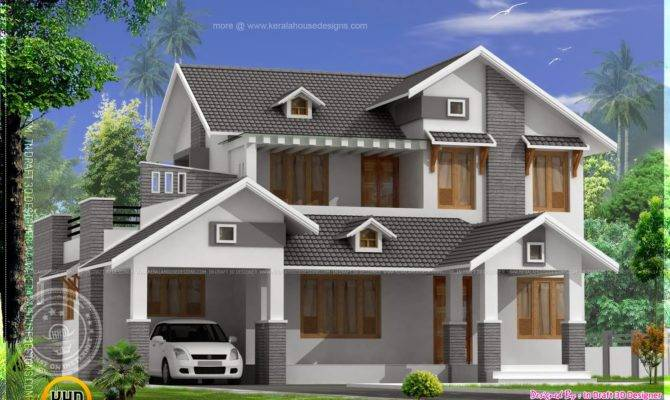 Pitched Roof House Designs