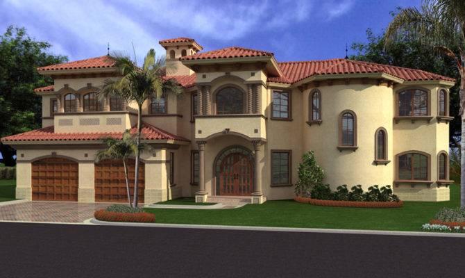 Placida Spanish Luxury Home Plan House Plans
