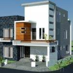 Plan Beautiful Front Elevation Modern House Design Gujrana