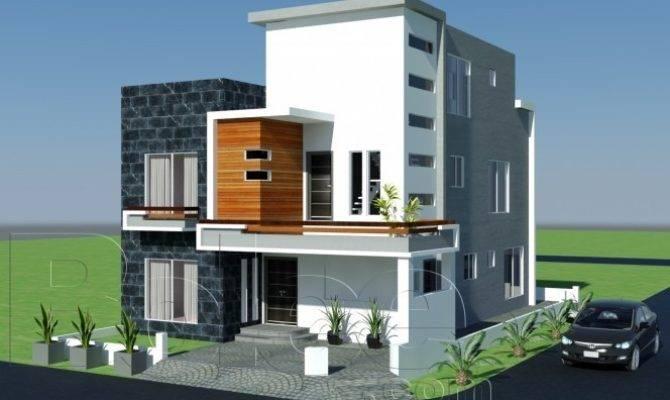 Plan Beautiful Front Elevation Modern House Design Gujrana Home Plans Blueprints 56979