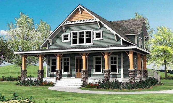 Plan Craftsman Wrap Around Porch