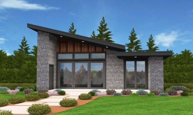 Plan Exclusive Tiny Modern House