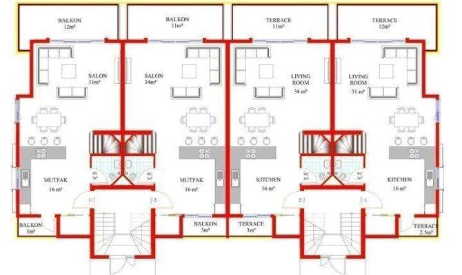 Plan First Floor Second Top