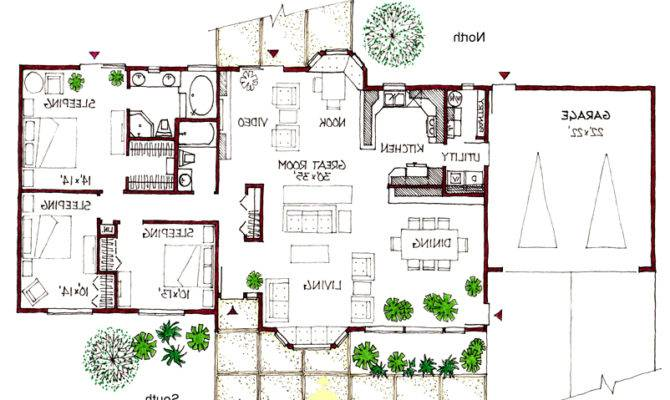 Plan Floor Home Plans Blueprints