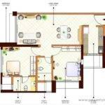 Plan Key Wing Bhk Floor