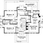 Plan Large Architectural Design