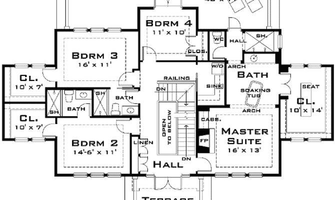 Plan Large Architectural Design