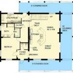 Plan Lsg Bedroom Bath Log Home