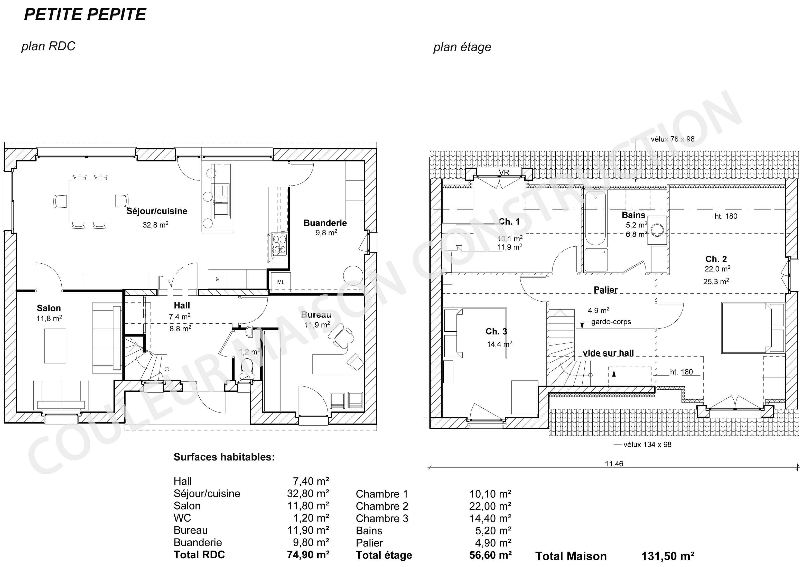 Plan Maison Moderne Gratuit Pdf Format Home Plans Blueprints 80322