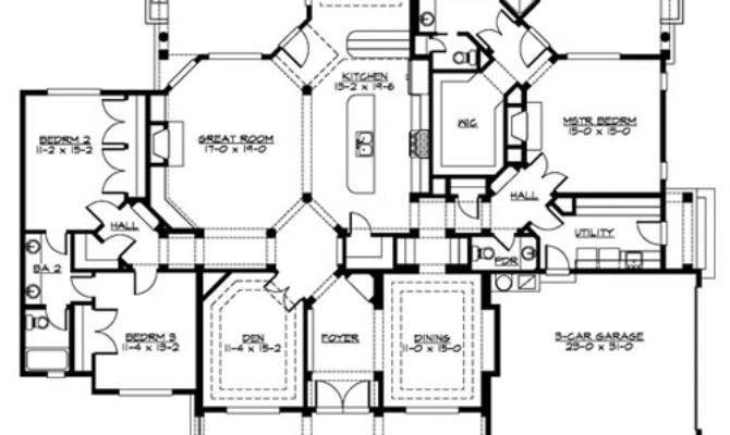 Plan Palladian House Designers Llc