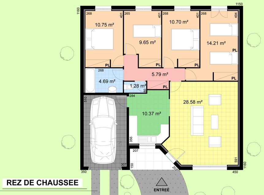 Plan Petite Maison Appartementese Home Plans Blueprints 80311