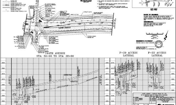 Plan Profile Sheets Autocad Civil Plans Production