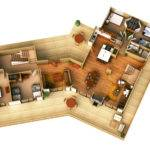 Plan Render House