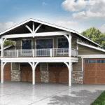Plan Story Garage Design Recreation Room