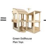 Plan Toys Green Dollhouse Pin Pinterest