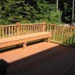 Planning Ideas Deck Bench Plans Best