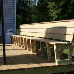 Planning Ideas Great Deck Bench Plans Modern