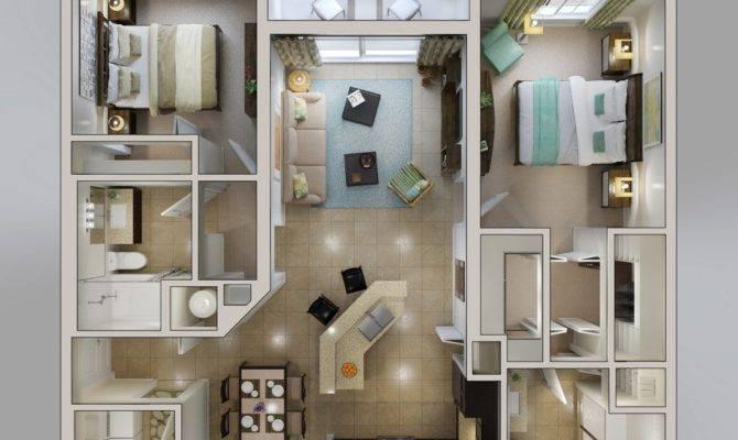 Planos Apartamentos Dise Modernos Construye
